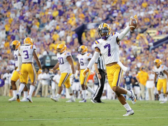 LSU will welcome Utah State to Tiger Stadium on Saturday morning.