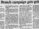 Asbury Park Press Headlines from the 1994 Long Branch city elections.