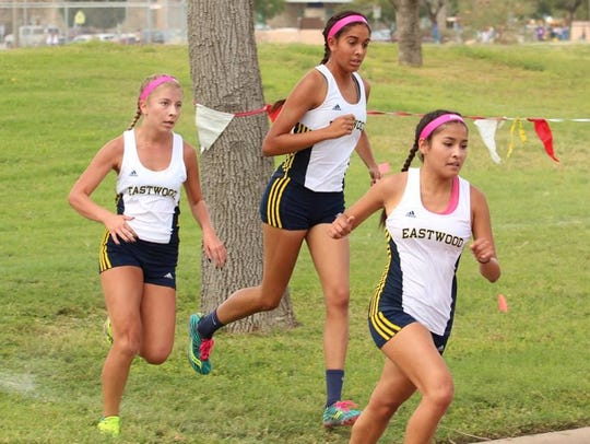 The Eastwood girls will be racing in its 10th straight