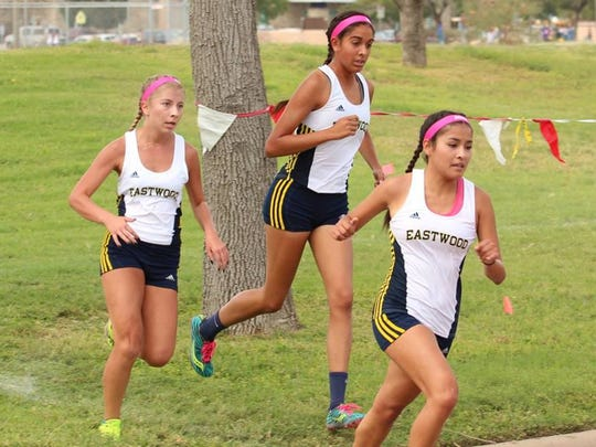 The Eastwood girls will be racing in its 10th straight Region 1 Cross Country Meet on Monday.