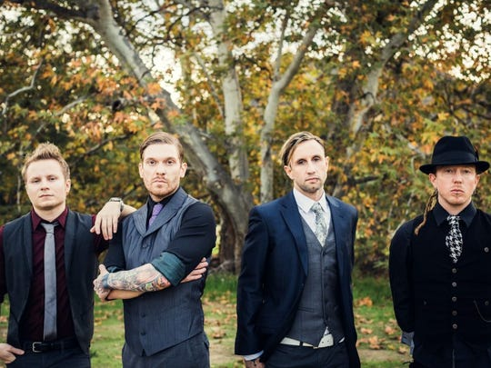 The hard-rock band Shinedown is set to perform on March 12 at Inn of the Mountain Gods in Mescalero, N.M.
