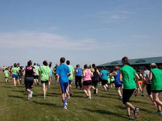 A local organization is holding a 5K race.