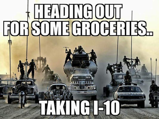 Heading out for groceries