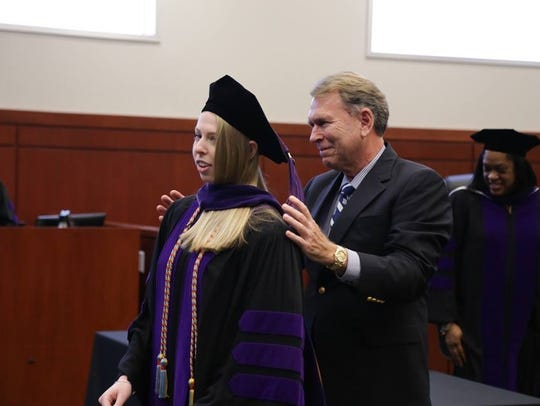 Eva Lauer also was admitted to the Graduate Tax Program