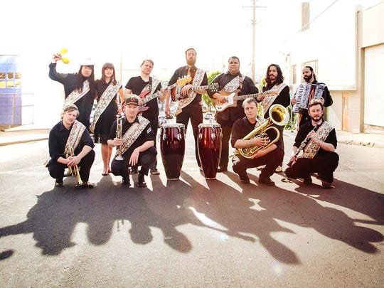 Venti's ¡Fiesta De Mayo! features tunes by Orquestra Pacifico Tropical for ages 21 and older 9 p.m. Friday, May 5, at Venti's Cafe + Basement Bar. Cost is $5.