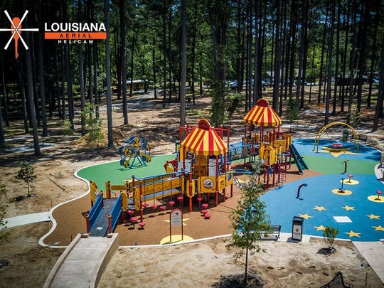 Civitan Smiles Park is the newest addition at Kiroli Park.