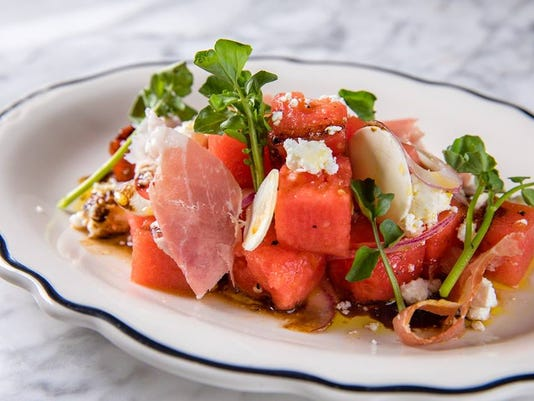 Watermelon Salad the French