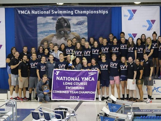 Somerset Valley YMCA Swim Team and Somerset Hills YMCA Swim Team captured first and 11th places, respectively.