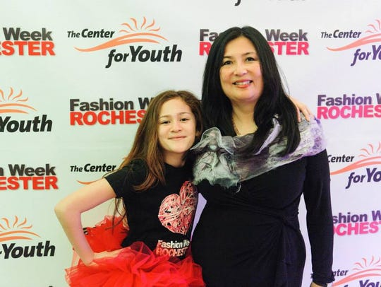Mary Chao and daughter Noelle Nafus