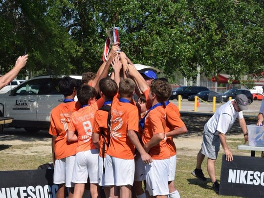 The Crossroads Pride '05 Boys won the President's Cup
