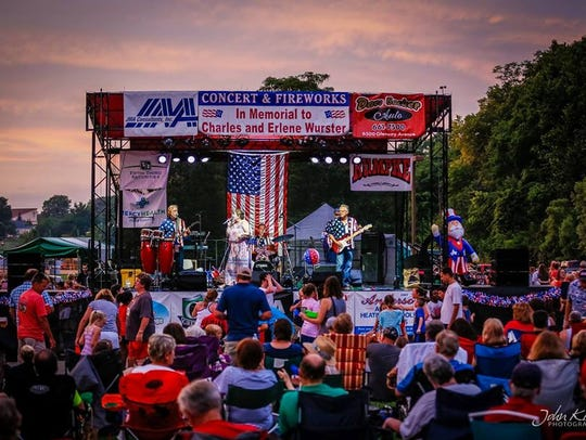 The annual Green Township Independence Day concert
