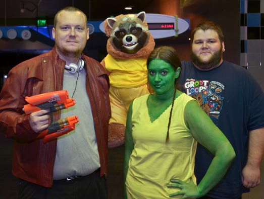 PNJ Movie Club takes in Guardians of the Galaxy at the Carmike Pensacola 18.