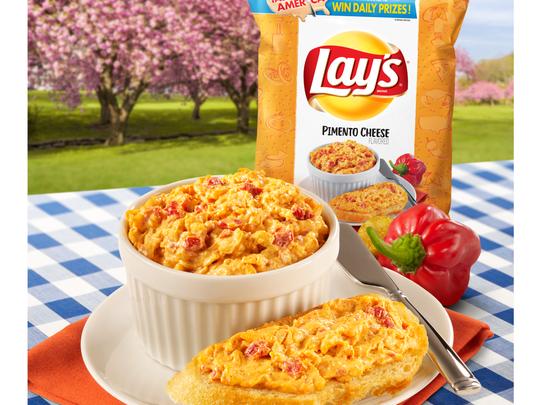 Lay's Pimento Cheese flavor. Picture courtesy of Frito