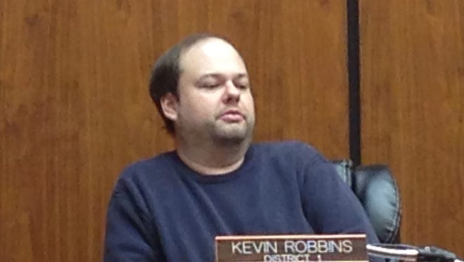 Kevin Robbins, member of the Wetumpka City Council.