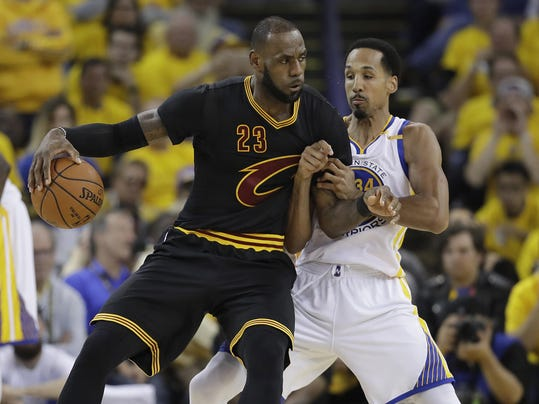 LeBron James,Shaun Livingston