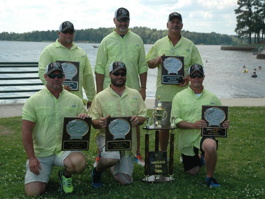 Cenla fishing club repeats as best six champs for Local bass fishing clubs
