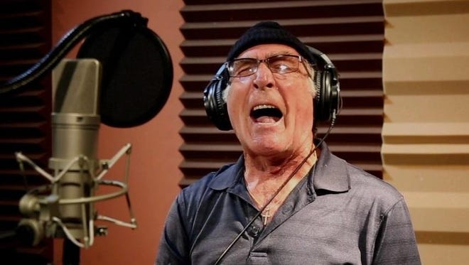 """Jazz singer Vic Fontaine's new album is """"Sun, Sand and Songs,"""" recorded at On Point Productions in Binghamton."""