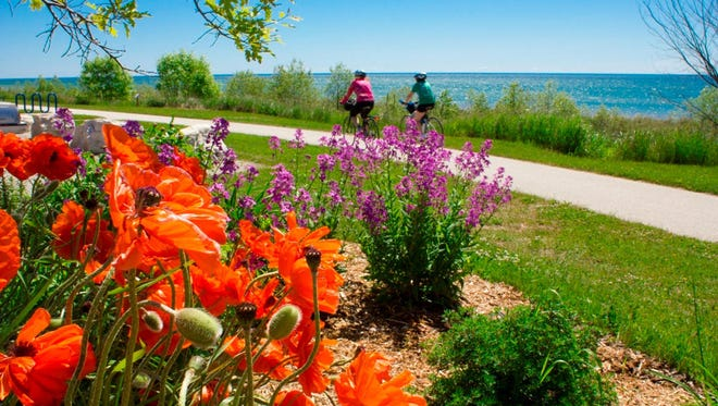 The Mariners Trail links Manitowoc County's coastal cities of Manitowoc and Two Rivers.