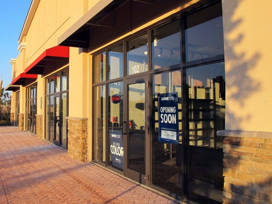 Supercuts hair salon is one of the businesses targeted to open soon in the new Commons on Collier retail center on Collier Boulevard.