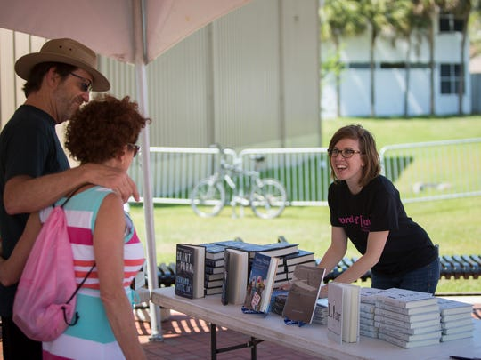 A scenes from last year's Word of South Festival at Cascades Park.