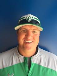 Wall head baseball coach Jason Schniers