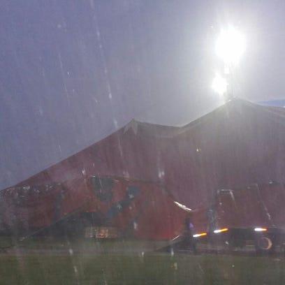 Circus organizers in Brazoria County said there was