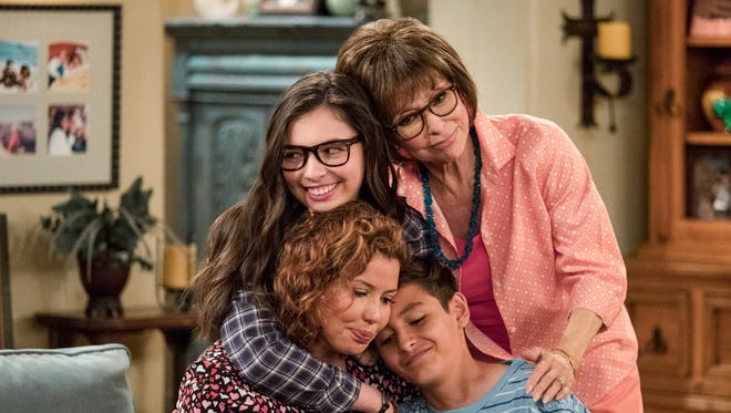 """One Day at a Time,"" with Rita Moreno (upper right), starts a second season on Netflix Jan. 26."