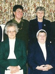 Sisters in modern dress from 1980 to the present.