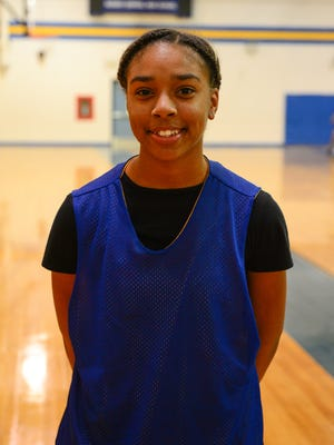 Azayah Garrison, Sophmore on Sussex Central's Girls basketball team. Wednesday, Dec. 14, 2016.