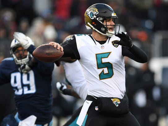 Blake Bortles remains one of the NFL's most inconsistent