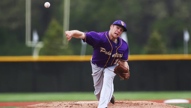 After spending three years as the starting quarterback for the University of Wisconsin-Stevens Point football team, senior right-hander Mitch Beau is pitching in for the Pointers baseball team. He tossed a three-hit complete game shutout in a 2-0 win over UW-La Crosse in opening round action of the WIAC Championship on Friday in Whitewater.