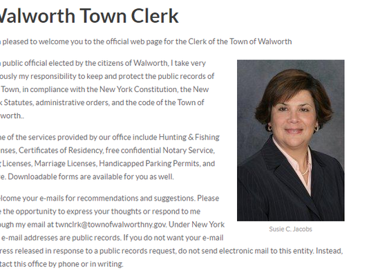 Walworth Town Clerk