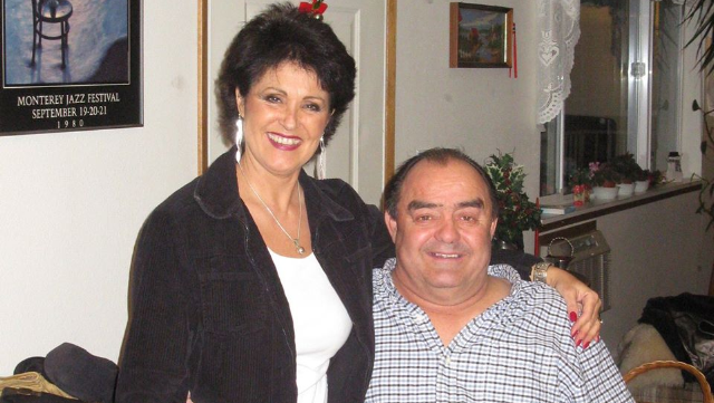 An undated photo of Larry and Rhonda Harvey