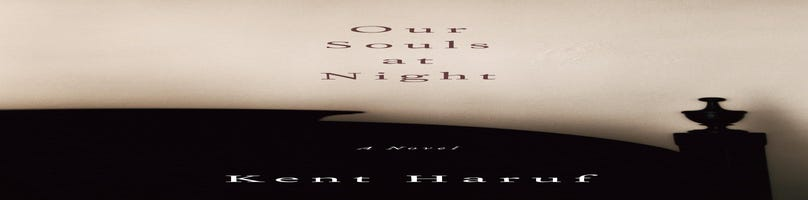 First Draft Book Club to discuss 'Our Souls at Night,' 7/22
