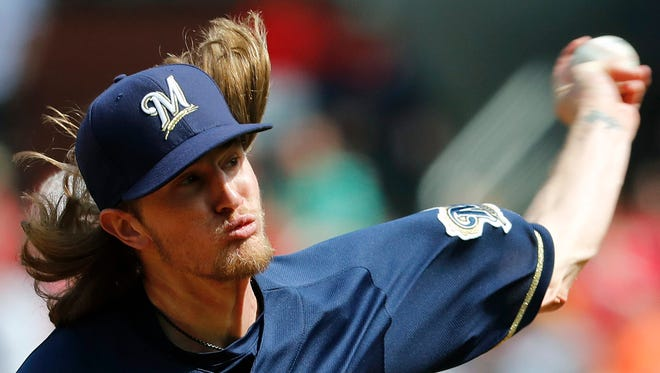 Josh Hader is under the microscope after a series of offensive tweets from his teens were uncovered Tuesday night.