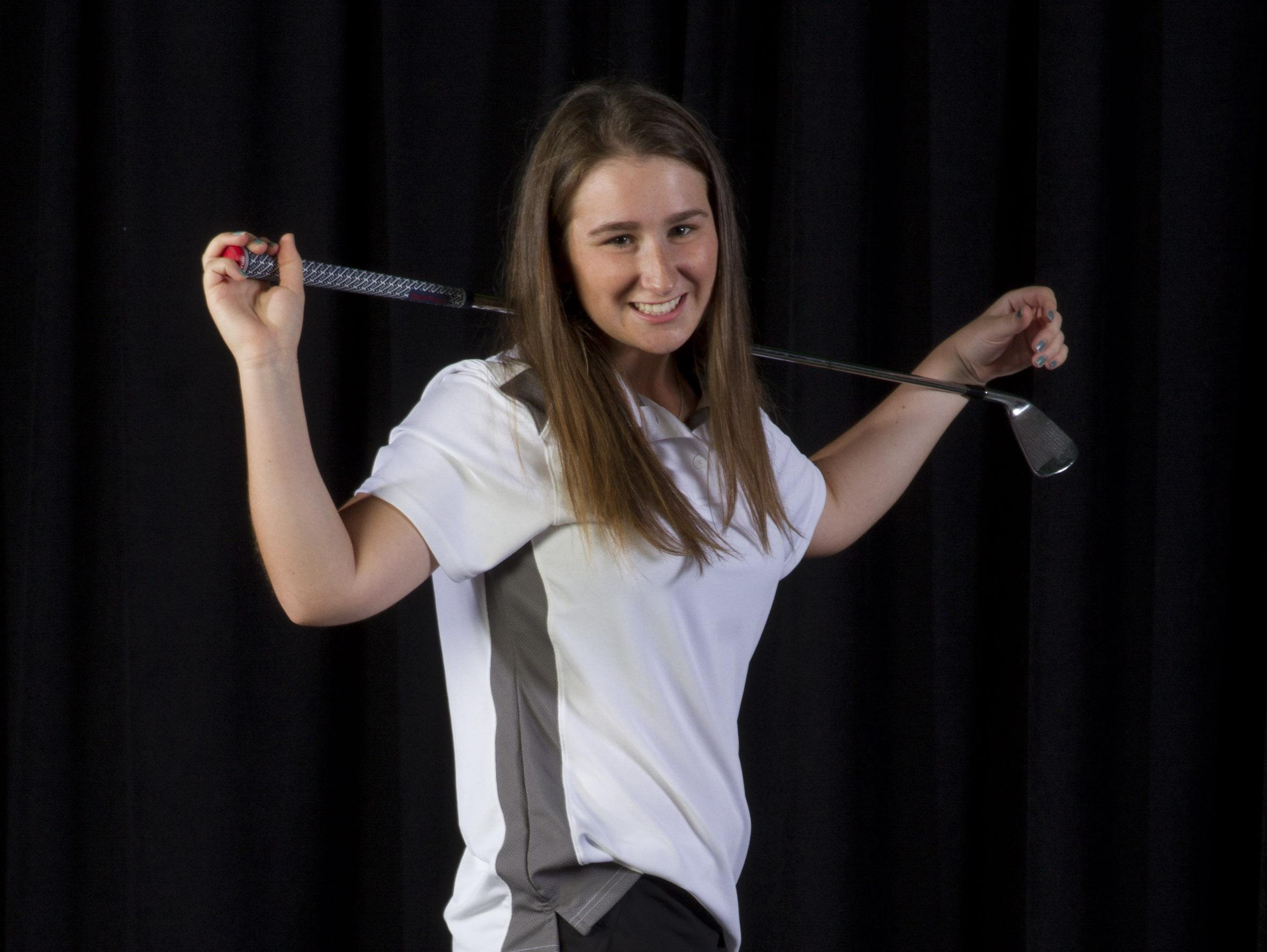 Nicole Totland of Red Bank Catholic is the 2015 All-Shore Girls Golfer of the Year.