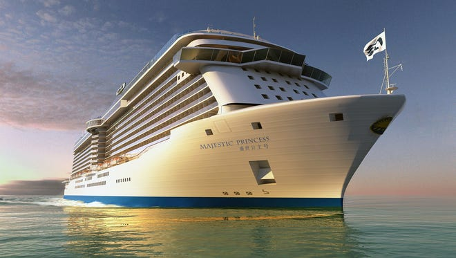 Princess Cruises' next ship will feature both English and Chinese names on its hull.