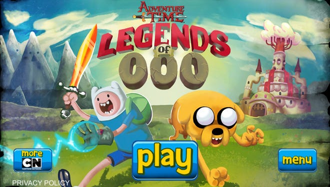 "A screen shot from ""Adventure Time: Legends of OOO."""