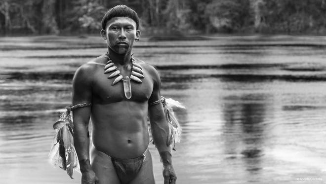 """Nilbio Torres plays a shaman on the Amazon in director Ciro Guerre's """"Embrace of the Serpent."""""""