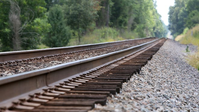 A woman was hit and killed by a train on these railroad tracks near Cades-Atwood Road, outside Milan, on Monday. The location of the accident is roughly one and one quarter miles in this direction, from this location, and it is accessible only by private property.