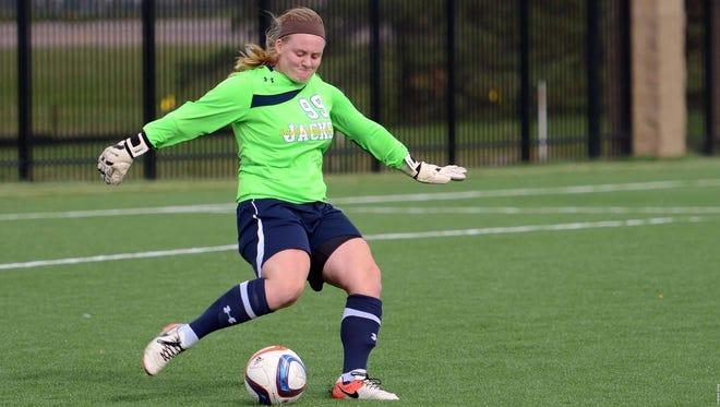 Senior goalie Nicole Inskeep has the 2nd best goals-against-average in the Summit League