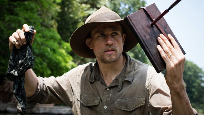 """Charlie Hunnam plays British explorer Percival Fawcett in """"The Lost City of Z,"""" new in theaters."""