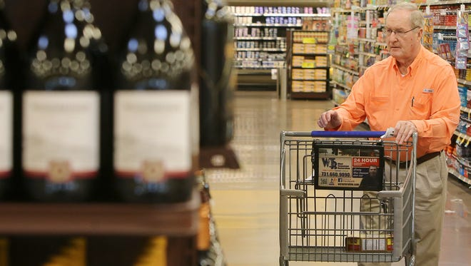 Wine in grocery stores