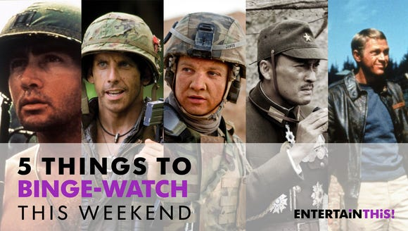 Our favorite streaming war movies.