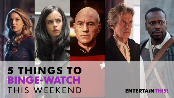 Spend some time with these heroes this weekend.