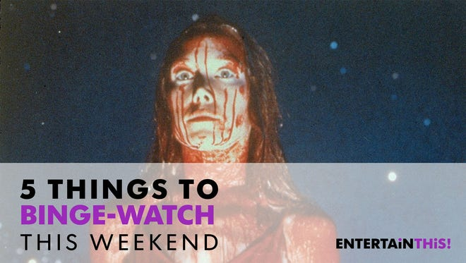 Party with Carrie this weekend.