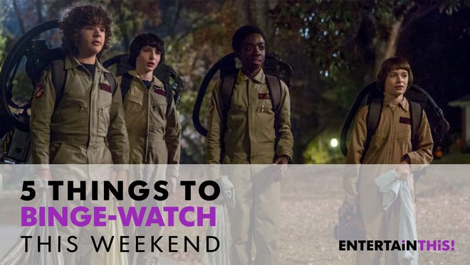 The kids of 'Stranger Things' are here for you this Halloween.