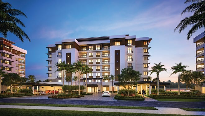 Moorings Park Grande Lake is a pet-friendly campus that consists of luxury mid-rise residences, including penthouses, all overlooking a lake.