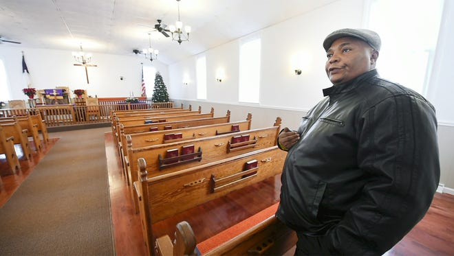 The Rev. Marlon Carter says it touches his heart every time he enters the newly refurbished Fawn AME Zion Church when he thinks of all the work the congregation endured and the history of an African American church that formed before the Civil War.