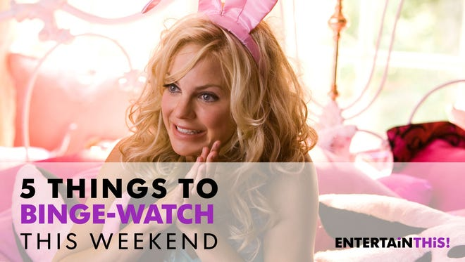 "In honor of ""Overboard,"" we're celebrating all things Anna Faris this weekend. Start with ""The House Bunny."""